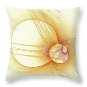 Simple With Texture Throw Pillow