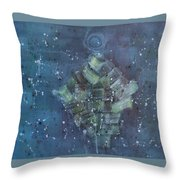 Simpleness Is Happiness Throw Pillow