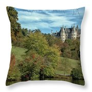Simpler Times Throw Pillow