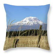 Mount Adams Throw Pillow