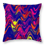 Simply Abstract Throw Pillow