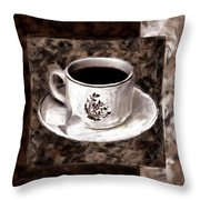 Simply Aromatic Throw Pillow