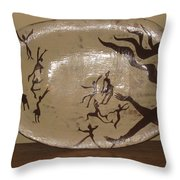 Simply Dance Throw Pillow