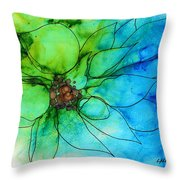 Simply Floral Throw Pillow
