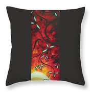 Simply Glorious 1 By Madart Throw Pillow by Megan Duncanson