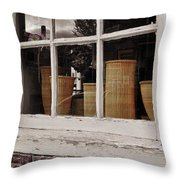 Simple Nantucket Throw Pillow