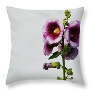 Simply Stated Throw Pillow