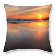 Simply Sunset Throw Pillow