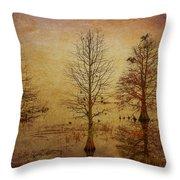 Simply Trees Throw Pillow