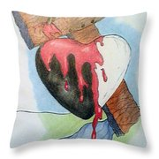 Sin Washer Throw Pillow