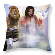 Since Before Abraham I Am Throw Pillow