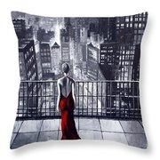 Sincity Throw Pillow