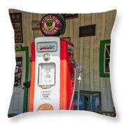 Sinclair Gasoline Throw Pillow