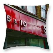 Sines 5 And 10 Throw Pillow