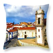 Sines Portugal Throw Pillow