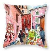 Sineu Market In Majorca 05 Throw Pillow