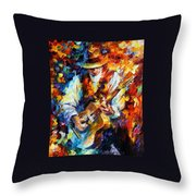 Sing My Guitar Throw Pillow