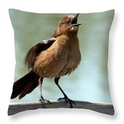 Sing Out Loud Throw Pillow