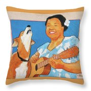 Sing To Me Throw Pillow