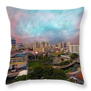 Singapore Rochor Commercial And Residential Mixed Area Throw Pillow