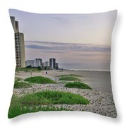Singer Island Florida Beach Throw Pillow