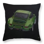 Singer Porsche 2 Throw Pillow by Richard Le Page