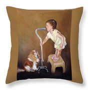 Singin In The Cane Part Two Throw Pillow