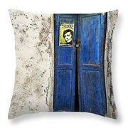 Singin' The Blues Throw Pillow