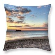Singing Beach Manchester Ma Sunrise Island Throw Pillow