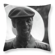 Singing In The Street Throw Pillow