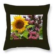 Singing Oh Happy Day Throw Pillow