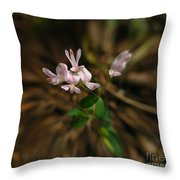 Singing Quartet And The Soloist Throw Pillow