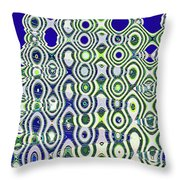Single High Rise Abstract Phoenix Throw Pillow