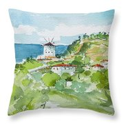 Single Mill... Throw Pillow