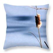 Single Stem Throw Pillow