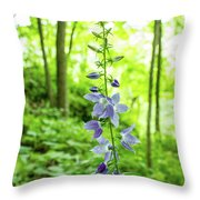 Single Stem Throw Pillow by Tyson Kinnison