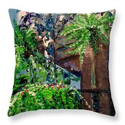 Single Strand Throw Pillow