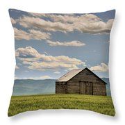 Singled Out Throw Pillow