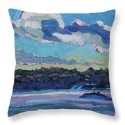 Singleton Solstice Stratocumulus Throw Pillow by Phil Chadwick