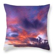 Singular Sunset Throw Pillow