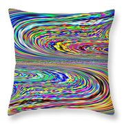 Sinuous Beauty Throw Pillow