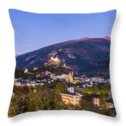 Sion At Night Throw Pillow