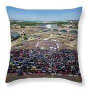 Sioux Falls Rise/shine 3 Throw Pillow