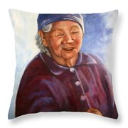 Sioux Kokom  Throw Pillow