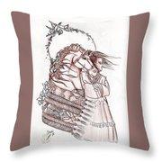 Sioux Wind Throw Pillow