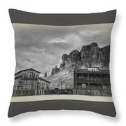 Siphon Draw Livery  Throw Pillow