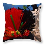 Sippers Throw Pillow