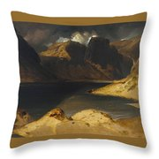 Sir Edwin Henry Throw Pillow
