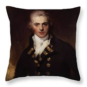 Sir Graham Moore Throw Pillow