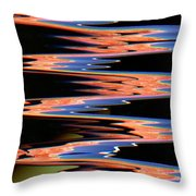 Sir Mbonu C. Emerem, ''festival  Of Eccentricities Freshening Our Aesthetic'',mixed Media, 2014 Throw Pillow